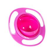 Baby Kid Non Spill Feeding 360 Rotating Gyro Bowl