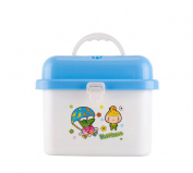 Bobei Baby Portable Cartoon Bottle Storage Box Anti-Bacterial Container