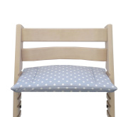 Blausberg Baby - Cushion for Tripp Trapp High Chair of Stokke - Grey Dot