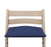Blausberg Baby - Cushion for Tripp Trapp High Chair of Stokke - Blue Stars
