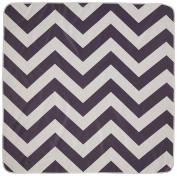 Prince Lionheart Catchall Splat Mat Floor Cover, Chevron Grey