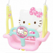 Hello Kitty Folding Toddler Indoor & Outdoor Swing Set & Free Gift