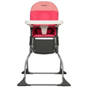 Simple Fold High Chair, Colorblock Coral