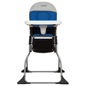 Simple Fold High Chair, Colorblock Surf the Web Blue