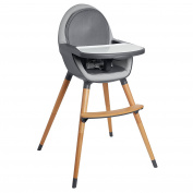Skip Hop Tuo Convertible High Chair, Charcoal Grey