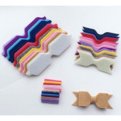 DIY a bowknot hairpin accessories 14 colours For Baby
