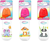 Born-Care Feeding Bottle with Silicone Nipple, Slow Flow, 240ml