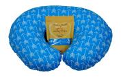 Nursing Pillow Slipcover Blue Arrow Design Maternity Breastfeeding Newborn Infant Feeding Cushion Cover Case Baby Shower Gift for New Moms