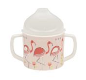 Sugarbooger Sippy Cup, Flamingo