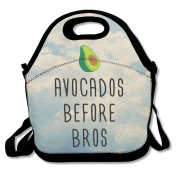 Avocados Before Bros Lunch Bag Cool Lunch Bags Black For YOU