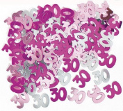 14g 30th Pink Happy Birthday Party Glitz Table Confetti Sprinkles Decorations