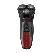 Remington Lithium Power Series Wetech Rotary Shaver, Red, 0.2kg
