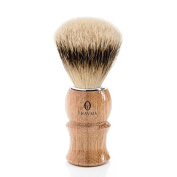 Silvertip Badger Shave Brush with Natural Oak Classic Handle