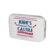 Kirk's Natural Original Coco Castile Soap Fragrance Free - 120ml -