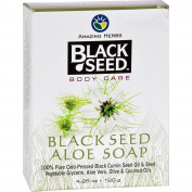 Black Seed Bar Soap - Aloe - 130ml -