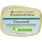 Clearly Natural Glycerine Bar Soap Unscented - 120ml -