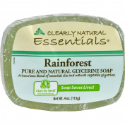 Clearly Natural Glycerine Bar Soap Rainforest - 120ml -