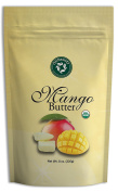 Organic Mango Butter - USDA Certified, Pure, Natural, DIY Skin/Hair Care, Unscented