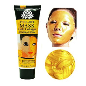 Aichun 24k Gold Collagen Peel-off Facial Mask Whitening Anti-Wrinkle Face Masks Skin Care Face Lifting Firming Moisturise 120ml