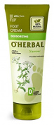 elfa Pharm O'HERBAL deodorising Deodorising foot cream with yarrow extract 75ml/2.54oz