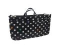 Micom Cute Printing Expandable 13 Pocket Handbag Insert Purse Cosmetic Bag Organiser with Handles for Women