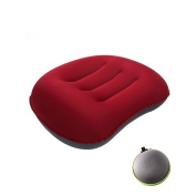 Pawaca Lightweight Inflatable Travel Pillow For Camping, Hiking, Backpacking, Car and Office
