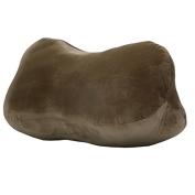 QHYT Bone Shape Desk Rest Pillow for Side Sleeper Office Rest Cushion Brown