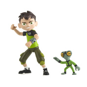 Ben 10 Ben Tennyson and Grey Matter Basic Action Figures