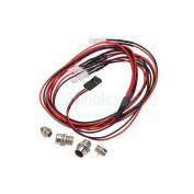 4 LED Upgrade Parts 5mm 3mm 2 Colour Light LED Light Set for RC Toy Cars Buggy