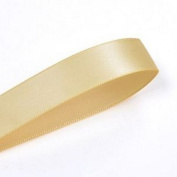 Toffee 1cm . Wide Double-Faced Satin Ribbon - 100 Yards