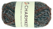 Charmkey Wool Origin Yarn Super Soft 4 Worsted Thick Acrylic Wool Blend 4-ply Natural Alpaca Tweed Baby Knitting Yarn for Garment Scarf Hat and Craft Project, 1 Skein, 100ml