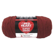 Yarn Red Heart Super Saver 2065 Redwood 210ml - 198 grammes - 364 yards
