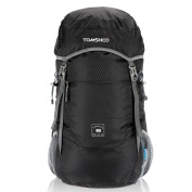 TOMSHOO 40L Foldable Packable Backpack Ultra Lightweight Water-resistant Nylon Travel Trekking Bag Outdoor