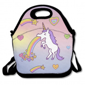 St. Patrick's Day Unicorn Tri Blend Lunch Bag One Size