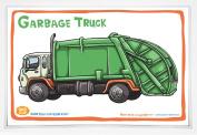 Good Glue Garbage Truck Placemat