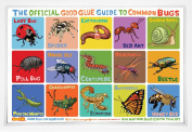 The Official Good Glue Guide to Common Bugs Placemat