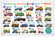 The Official Good Glue A to Z Guide to Trucks Placemat