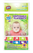 Mighty Clean Baby Disposable Placemat 60 Count Value Pack