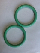 Pair-2 Best Baby Sling Rings Authentic Sold by Original USA Company- SlingRings , Aluminium and Nylon Rings for Making Ring Slings