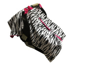 BayB Brand Car Seat Cover - Zebra and Hot Pink
