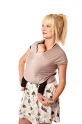 Moby Wrap Bamboo Baby Carrier, Blush