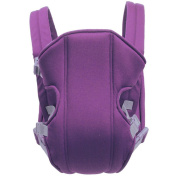 ZSY FOR U 3-16Months Simple Baby Carriers Baby Toddler Newborn Cradle Pouch Ring Slings,Purple