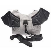 HiCat Baby Toddler Walking Safety Harness Backpack Bag with Leash Little Kid Boys Girls Anti-lost Belt Cute Mini Bat Backpacks Lead Strap Knapsack, Assistant Keeper Helper