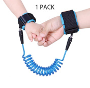 HuiSiFang Anti Lost Wrist Link Safty Child Baby Hook and loop Harness Strap Rope Leash Walking Hand Belt 250cm