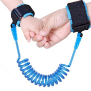 Anti Lost Wrist Link Safety Hook and loop Wrist Belt,Safe Skin Friendly Anti Pricking Cotton Wrist Straps For Your Baby Child, 250cm