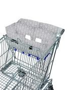 Bambella Designs Shopping Cart Liner - Grey Arrows