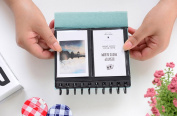 Blue Mini Portable Album Photos Valentine Mother Day Gift For Baby Birthday Gifts Leaves Home Decor Young Commemorate