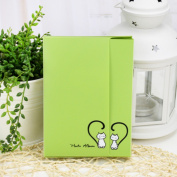 Green Photo Album Diy Kits Baby Creative Family Newborn Gifts Lovers Memory Picture Albums 40 Photos