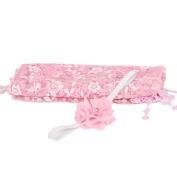 TRENDINAO Newborn Baby Boys Girls Cute Pink Photo Props Quilt Blanket + Headband