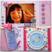 Boy and Girl Baby Tooth Fairy Memory Book